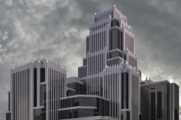 Многофункциональный административно-торговый комплекс Оружейный переулок, вл. 41