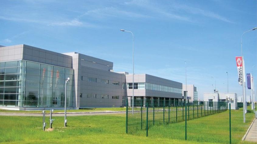 Завод по сборке грузовых автомобилей Volvo и Renault